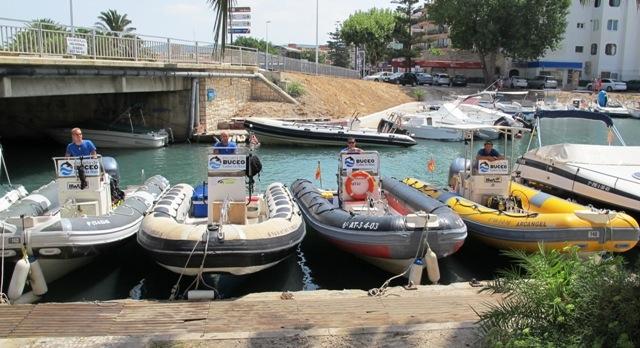 Embarcaciones de Cabo la Nao