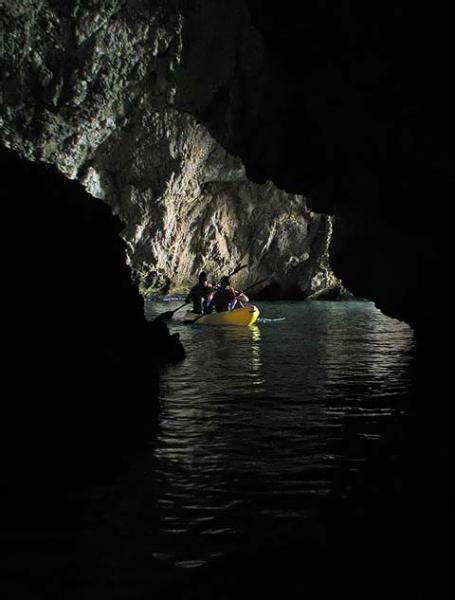 Kayak marino
