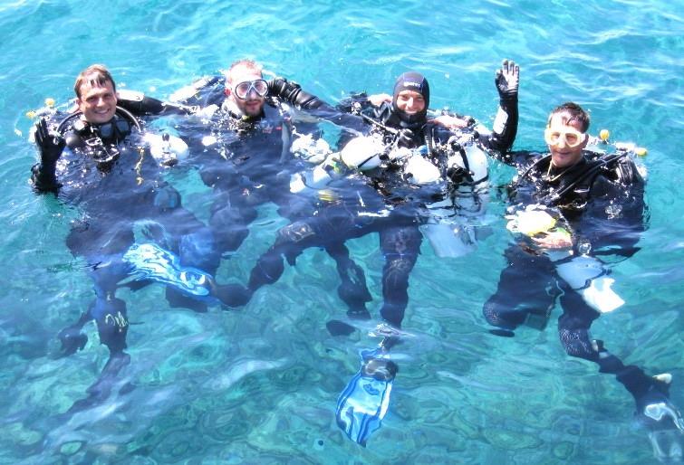 Inmersiones en Alisios Sub