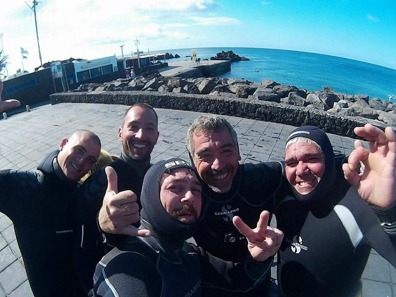 Inmersiones con Lanzarote Buceo