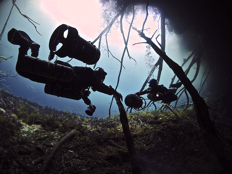 Liquid Planet Cenotes