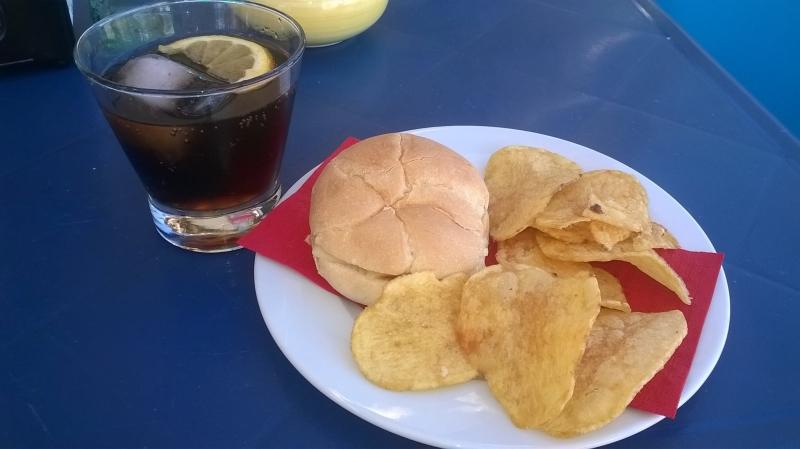 Montadito  en el Café Bar Yemanjá