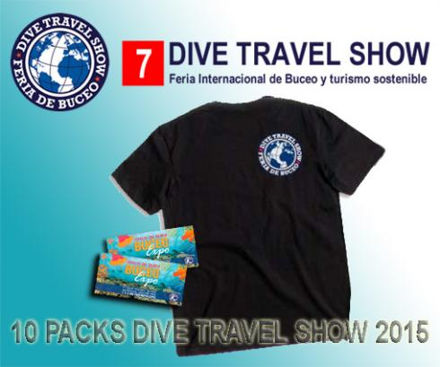 10 Packs Dive Travel Show 2015