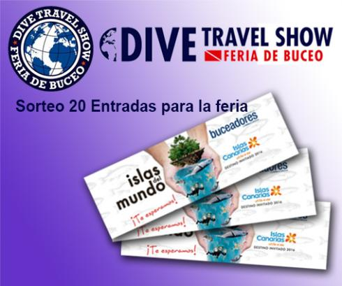20 Entradas Dive Travel Show 2016