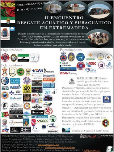 Dos entradas al II Evento de Rescate de Extremadura
