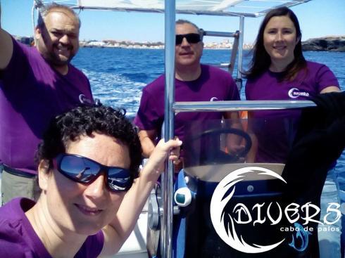 Sorteo de 10 inmersiones de buceo en Divers Cabo de Palos