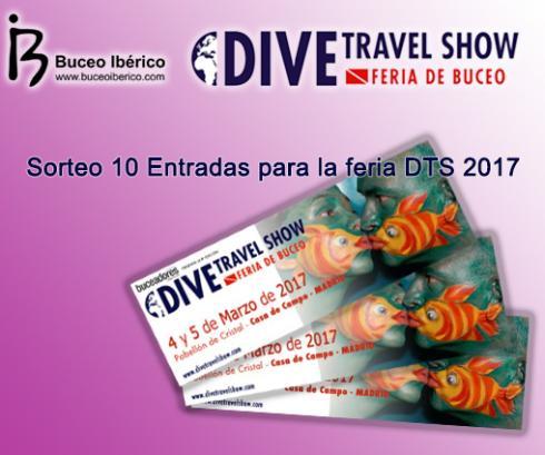 10 Entradas Dive Travel Show 2017