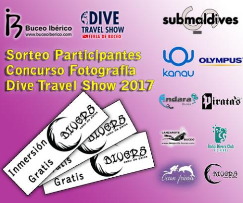 Sorteo Participantes Concurso Fotosub Dive Travel Show 2017