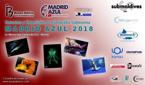 Votaciones Concurso de FotoSub Madrid Azul 2018 - Underwater Photo Contest Voting Madrid Azul 2018