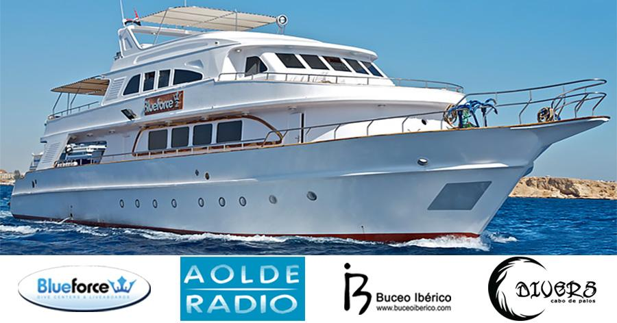 SORTEO DE CRUCERO MAR ROJO BY THE FACE CON AOLDE RADIO Y BLUE FORCE FLEET