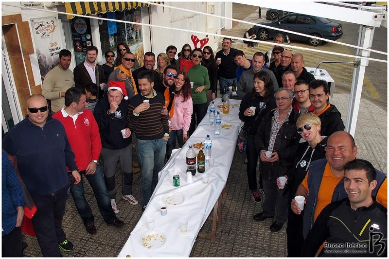Champán de Navidad Naranjito Buceo, mesa