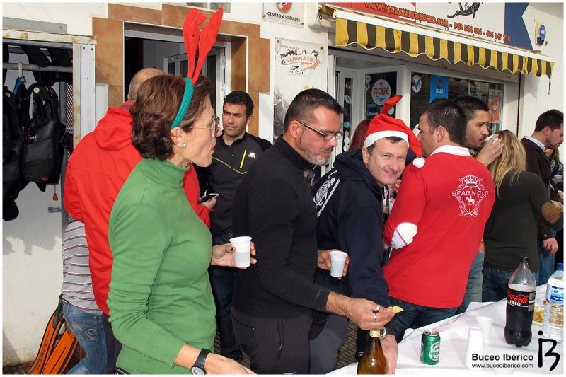 Champán de Navidad Naranjito Buceo, paella