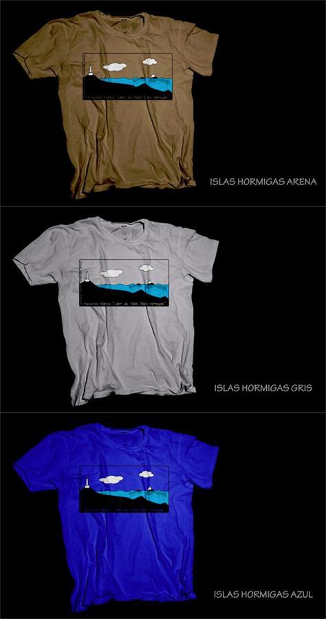 Camiseta Islas Hormigas