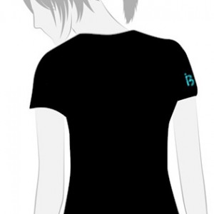 Camiseta Tiburones Tribales Chica - vista trasera