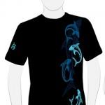 Camiseta Tiburones Tribales Chico - vista delantera
