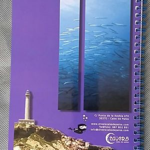 Logbook de buceo Divers - Back