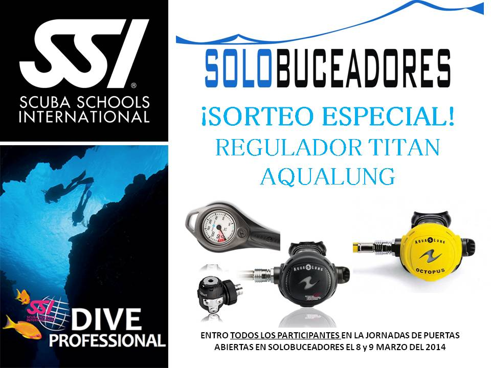 Sorteo Regulador Titan Aqualung