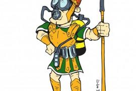 Legionario buceador por Zio Dillinger