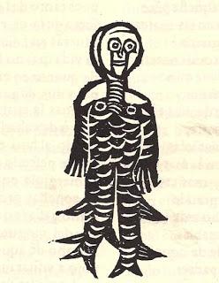 Hombre pez del medievo