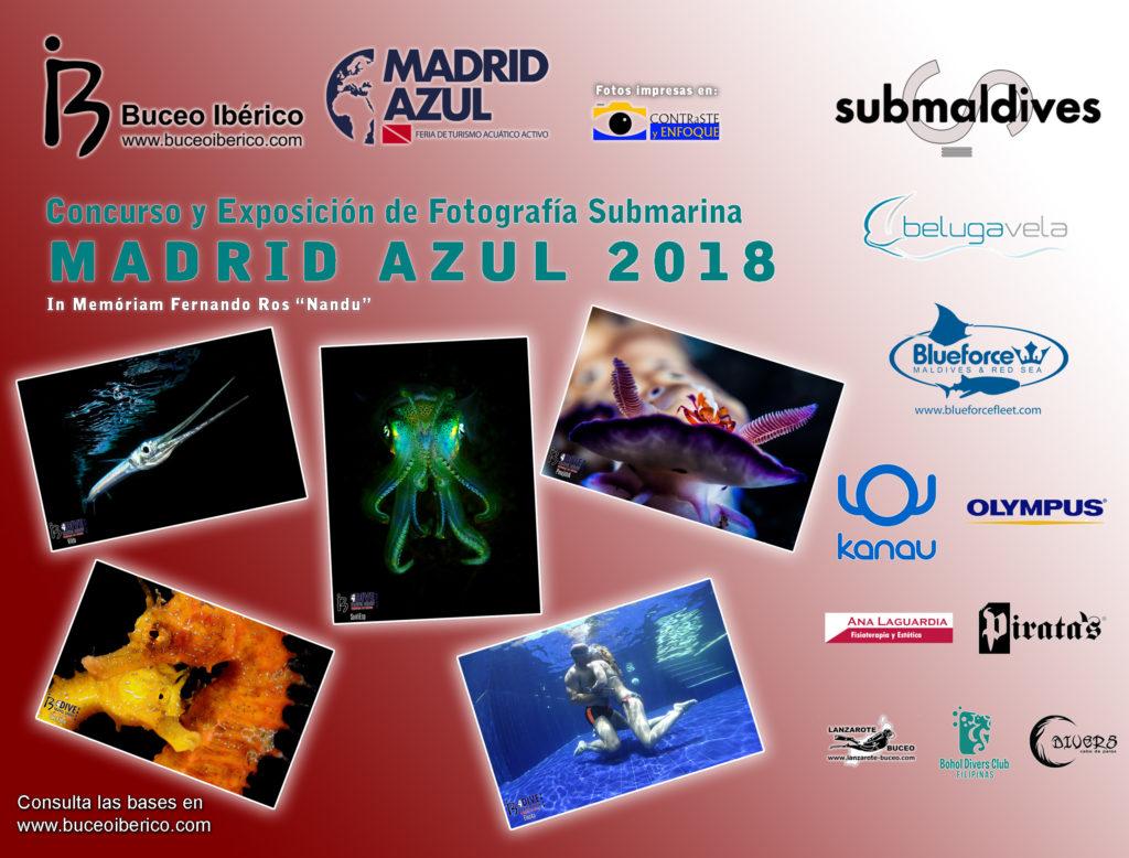 Concurso y Exposición de Fotografía Submarina Madrid Azul 2018
