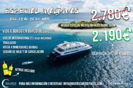 Viaje a Maldivas con Divers Cabo de Palos