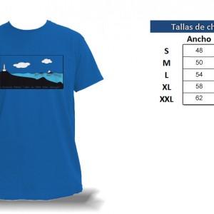 Camisetas Islas Hormigas - tabla de tallas