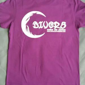 Camiseta Divers - Trasera