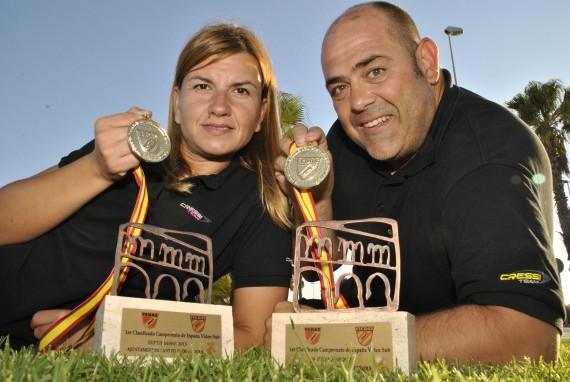 Hector Ripollès y Lledó Bernat, Campeones de España de Video Submarino 2015